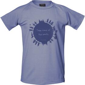 Isbjörn of Sweden Earth T-shirt Kinderen, blauw